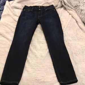 *Seven for all mankind skinny jeans